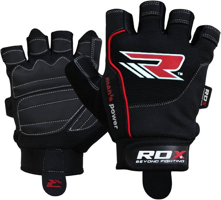 8.RDX Gym Weight Lifting Gloves Cross