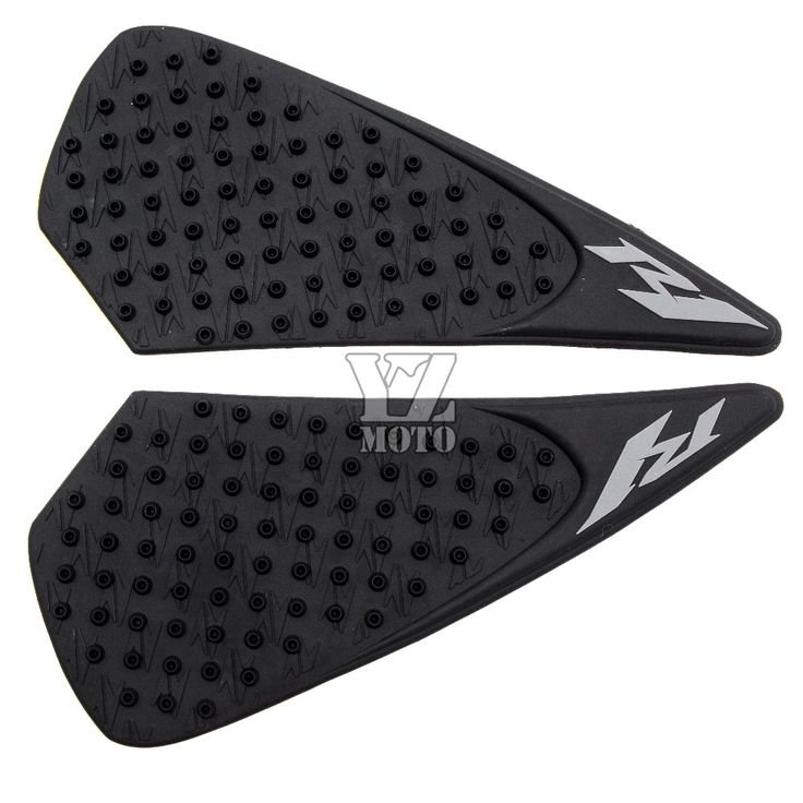 Anti slip pad sticker Motorbike Tank Traction Pad Side Knee Grip Protector with R1 logo For YAMAHA R1 r1 2004 2005 2006