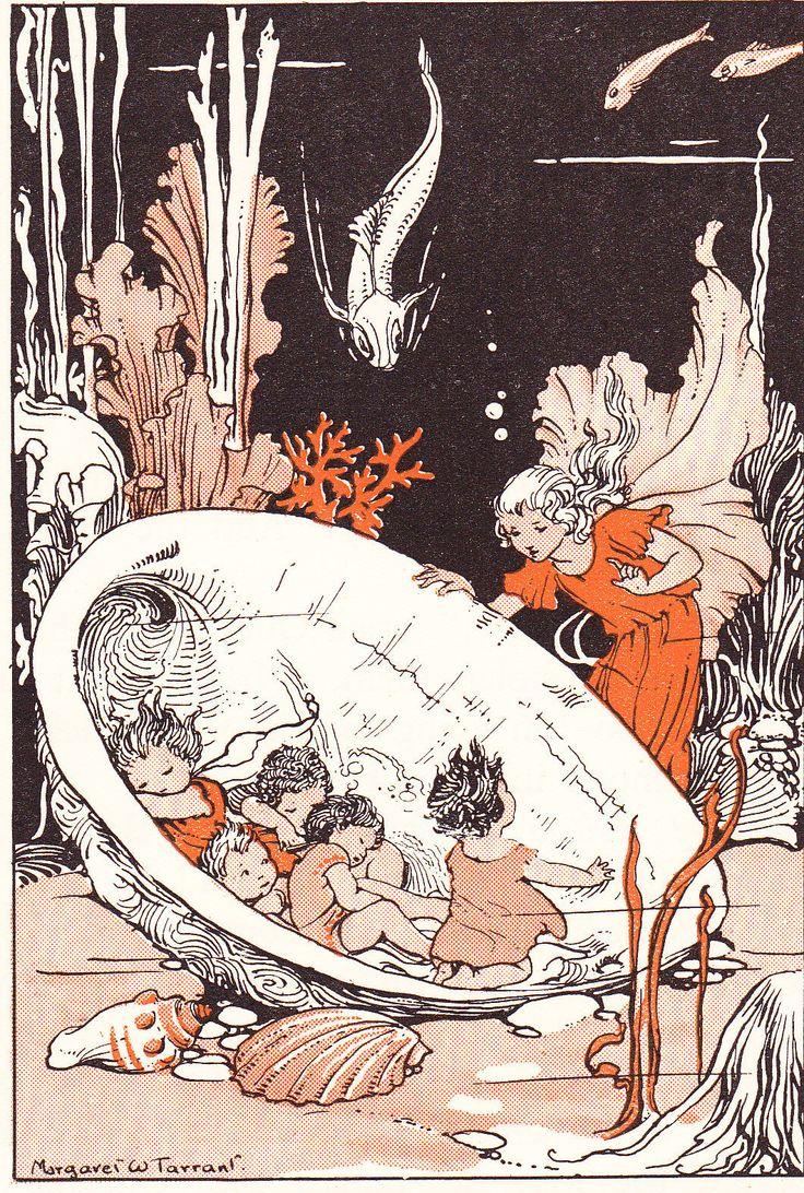 Margaret W. Tarrant's sea babies, 1930s | eBay