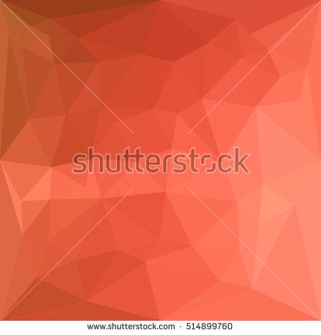 Low polygon style illustration of a light salmon abstract geometric background. #abstractbackground #lowpolygon #illlustration