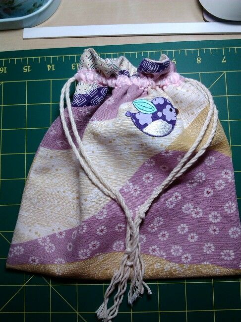 Little drawstring bag