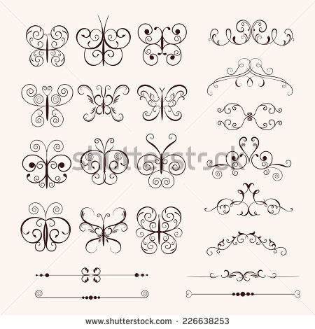 tasarım çerçeveleri ve afiş vintage dekoratif kelebekler, çerçeveler, sınırları ayarlayın.  doğum günü kartı, düğün davetiyeleri için kullanabilir miyim