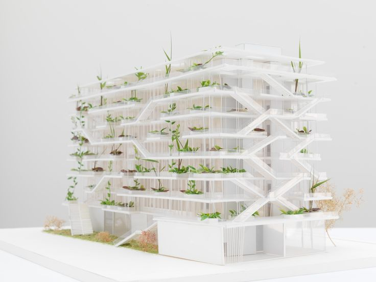Galería de NL*A presenta imágenes de nuevo proyecto verde en Francia - 8