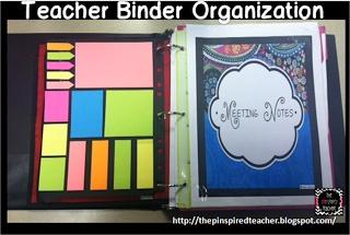 How I Stay Organized with My Teacher Binder