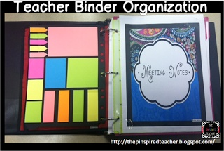 The Pinspired Whole Brain Teacher: How I Stay Organized with My Teacher Binder **Create a school info/mtgs binder and a parent/student binder where you record communication