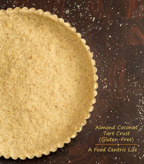Almond coconut tart crust (wheat free, gluten free)