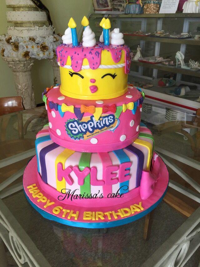 Shopkins birthday cake. Visit us Facebook.com/marissascake or www.marissascake.com