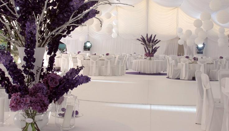 Purple Backyard Wedding : purple outdoor wedding  Purple outdoor wedding  Pinterest