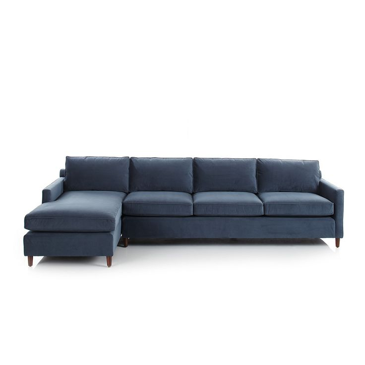 bobs living room sets%0A Mitchell Gold   Bob Williams Martin Sectional   Bloomingdale u    s    Navy SofaBlue