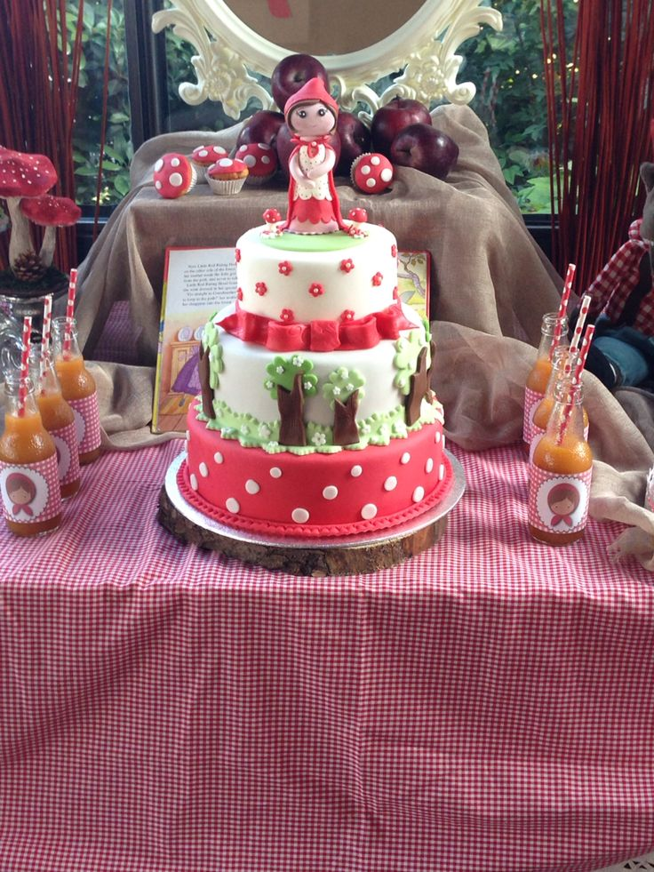Cappuccetto Rosso Party - Sweet Table