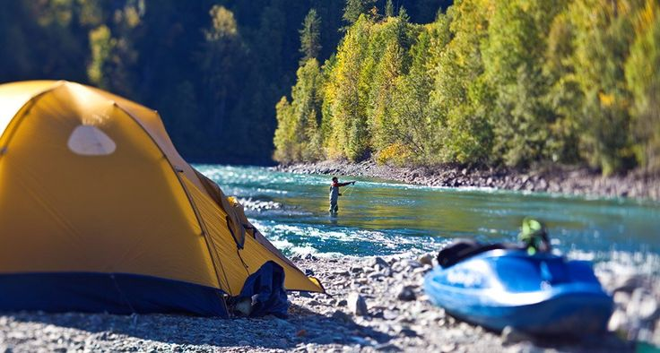 Camping at Quesnel Forks near Likely. Photo by Ryan Creary. #explorebc
