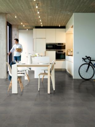 Quick-Step Tila Natural Stone Metallic Effect Laminate Flooring, 5410455774251 ; 5410455295480
