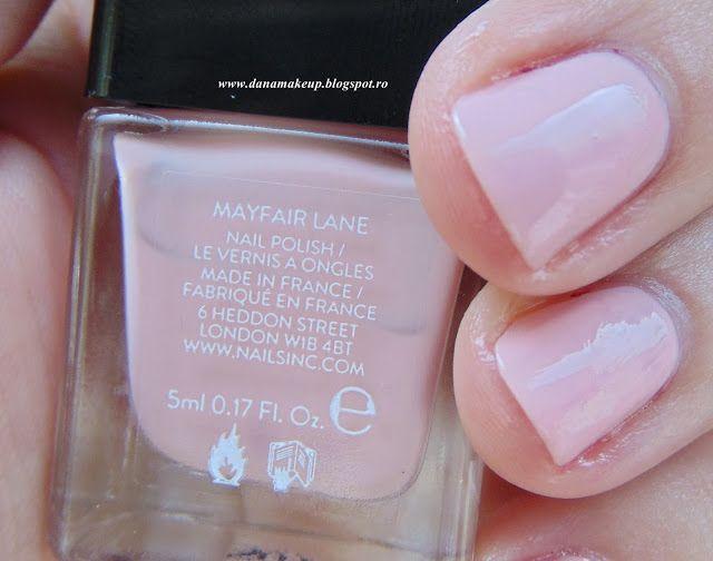 danamakeup.ro: Nails Inc gel effect Mayfair Lane. Review & swatch...