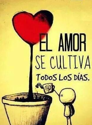 El Amor se cultiva...