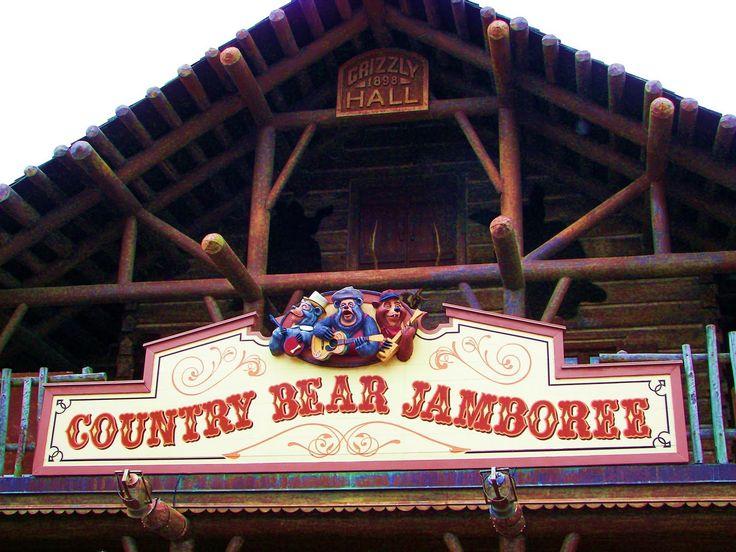 County Bear Jamboree no Magic Kingdom no Disney World