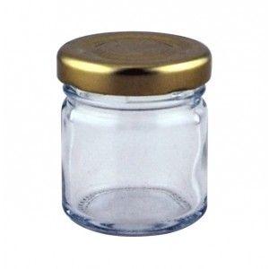 1.5oz Round Mini Jar - Pack of 126