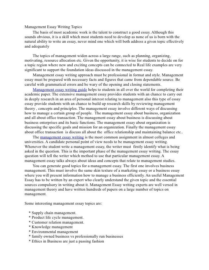 Topic Essay Writing Ethic Topics