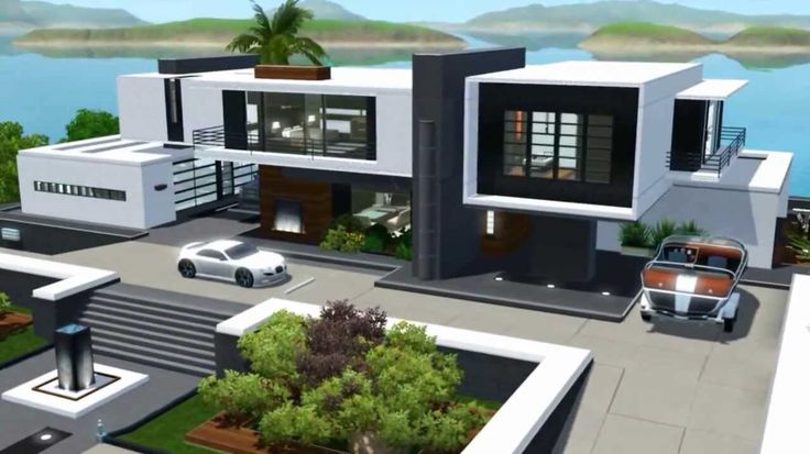 The sims house