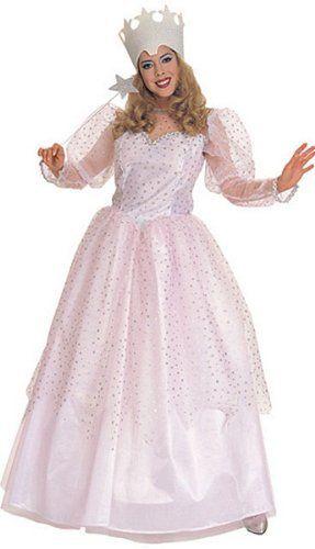 standard adult glinda costume modest halloween costume - Modest Womens Halloween Costumes