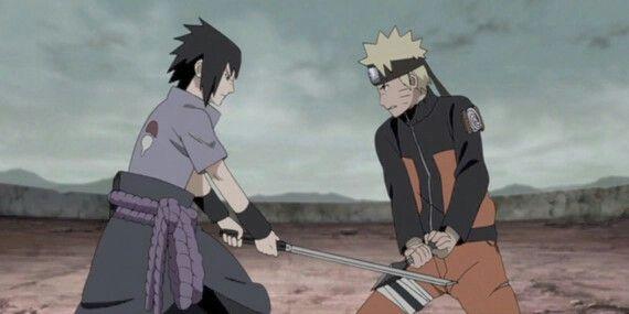 Sasuke vs Naruto alternate story line