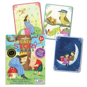Carte e giochi da tavolo per inventare fiabe, favole e racconti - Tell Me a Story - Mystery In The Forest - eeBoo