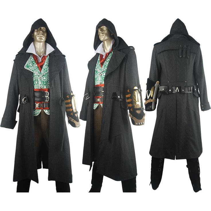 Assassins Creed Syndicate Jacob Frye costume deluxe halloween costume xmas gift for adults kids children anime comic-con party costume fancy dress