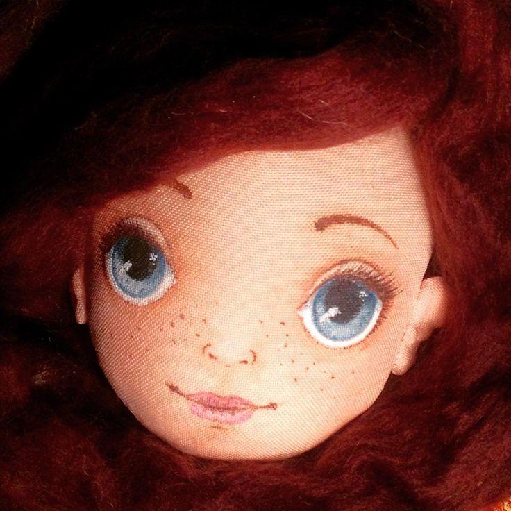 «#процесс #кукла #текстильныекуклы #текстильнаякукла»