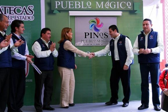 Hoy nombraron a Pinos, como el Pueblo Mágico número 65 en el país