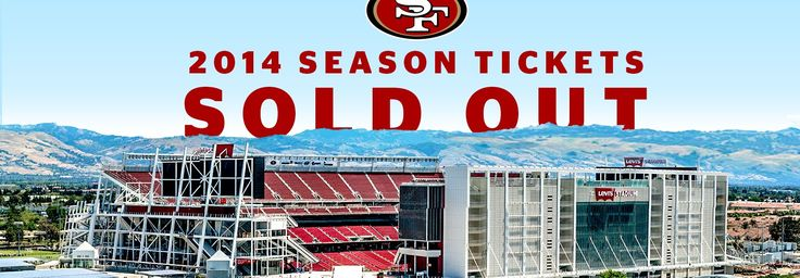 Wow, the 49ers season tickets have sold out! Glad to have a suite this year and so proud to be the team's preferred staffing partner!