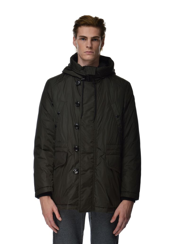 Moncler - Fall Winter 2015 - Menwear // Kaki Dirk coat
