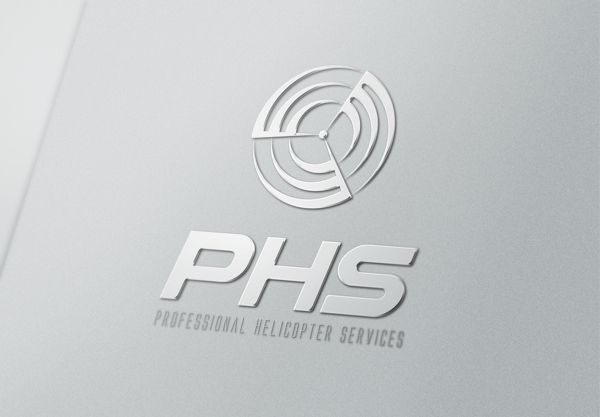 PHS Helicopter Identity by Frank Yuan, via Behance