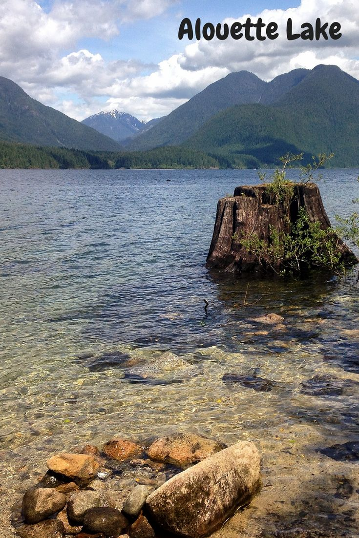 Alouette Lake in Golden Ears Provincial Park, British Columbia. 45 minutes from Vancouver.