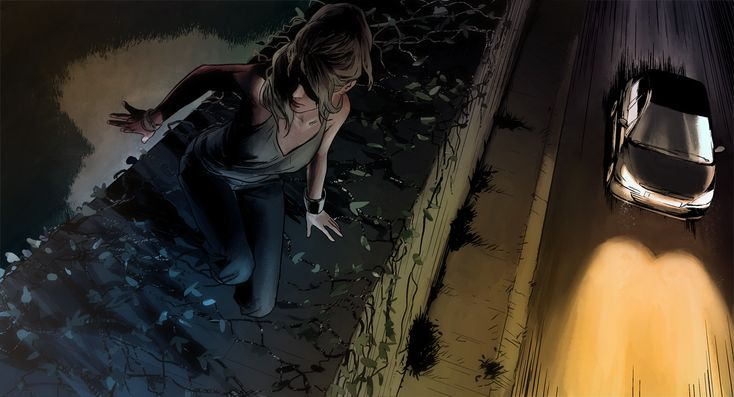 Peugeot HYbrid4 presents : The hybrid graphic novel. Awesome campaign featuring parallax and audio.