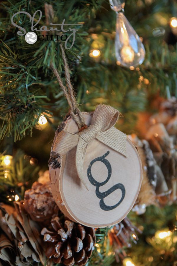 Hey friends! Happy Tuesday! Welcome to Day 10 of the 12 Days of Christmas Series! To keep up with all of our projects, make sure to Follow us on Instagram! Today I am sharing a fun and super cute ornament idea! I also like using them with twine to wrap a napkin when making a {...Read More...}