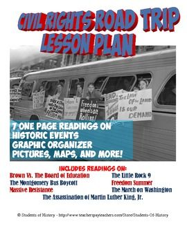 Have your students take an in-class Road Trip to learn about key events the Civil Rights Movement!