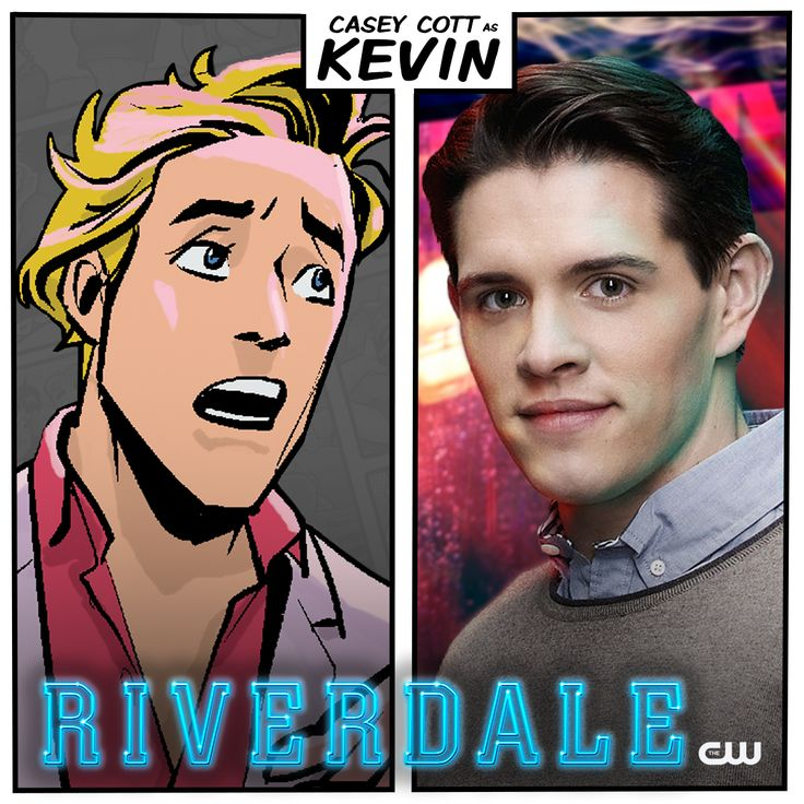 From the world of Archie Comics, Casey Cott is Kevin on The CW's new series …