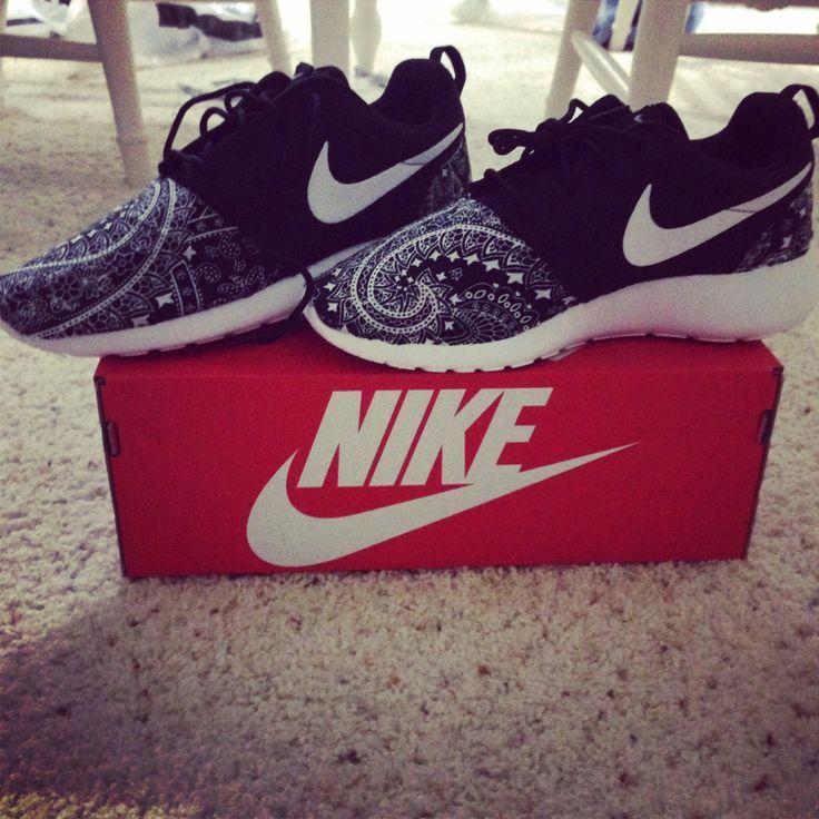 Custom designed Nike Roshe Runs by KicksByKels on Etsy, $145.00