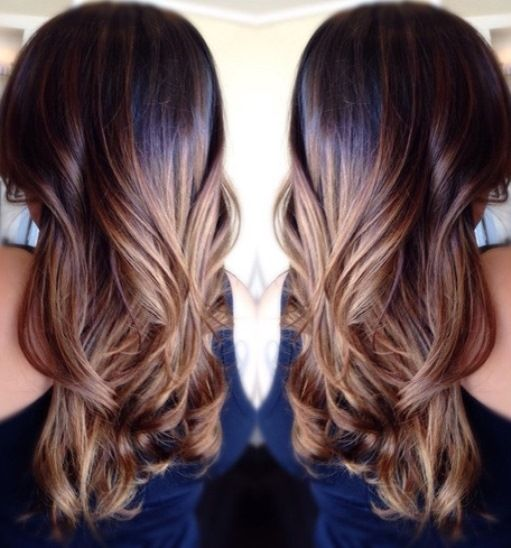 Ombre Hairstyles Best 46 Best Ombre Straight Hair Images On Pinterest  Hairstyle Ideas