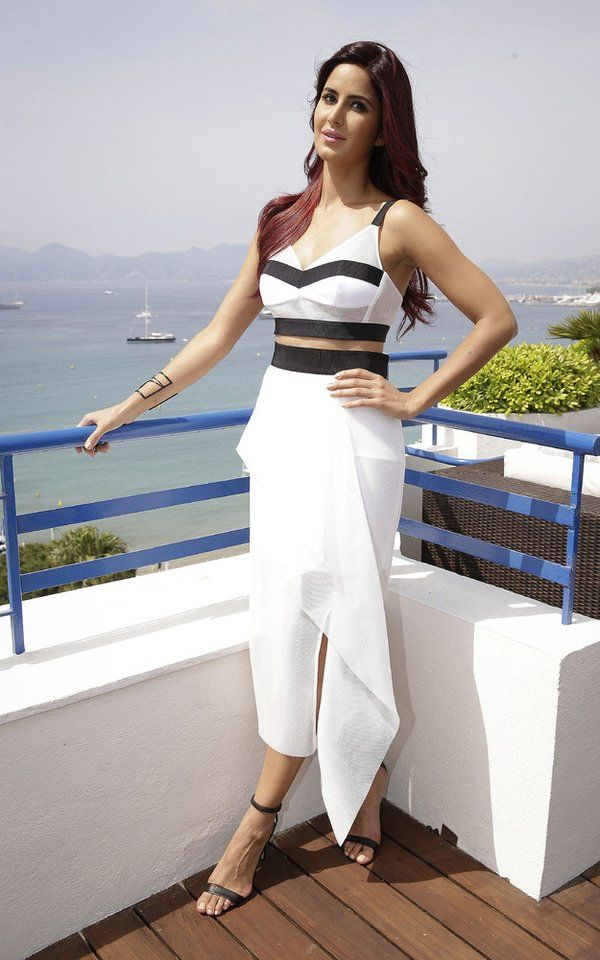 #Throwback Katrina Kaif poses in front of the French Riviera during the 68th annual Cannes Film Festival