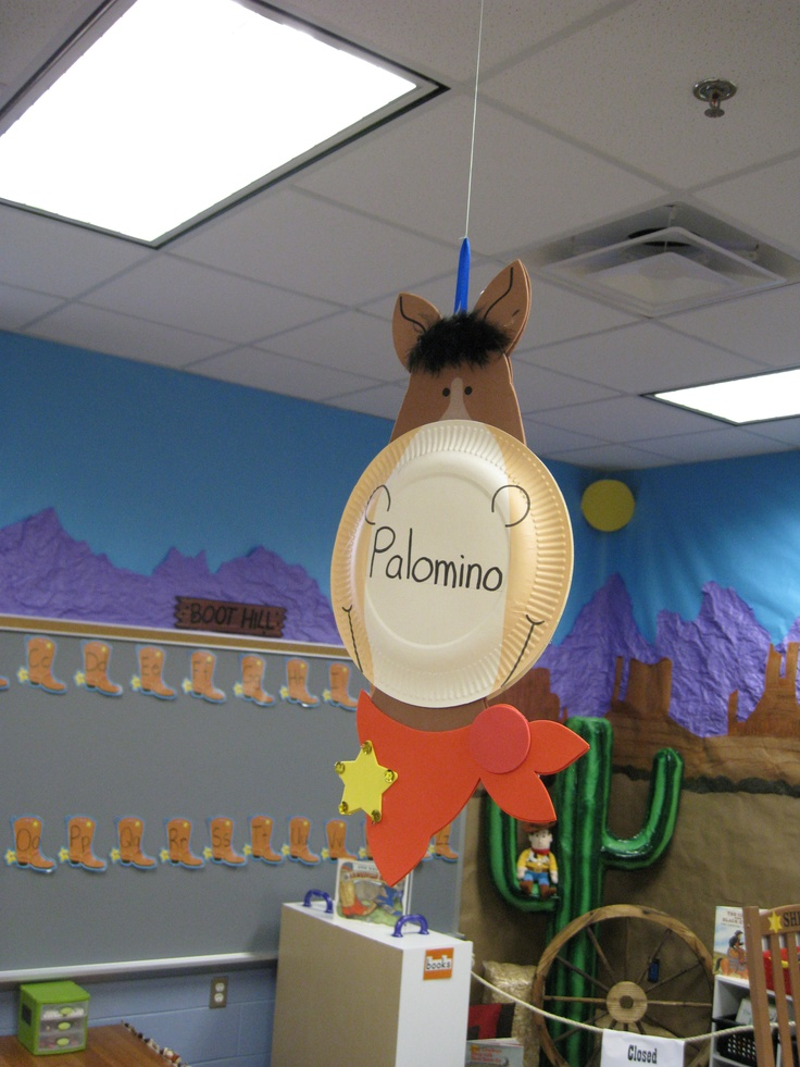 Classroom Western Theme or Animals.  Could also do a Zebra for alike and different.  TRV