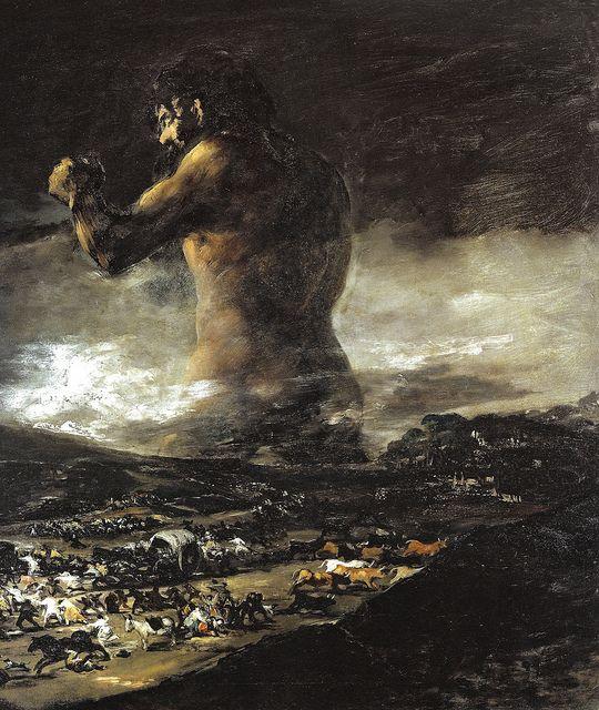Франциско де Гоја - Колос, 1812 у Мусео Прадо Мадрид Шпанија | Флицкр - Пхото Схаринг! из