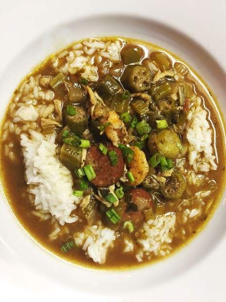 When I think about what my South tastes like, it's gumbo, a staple in Cajun cuisine. And the key to a good gumbo is the roux. Roux is a