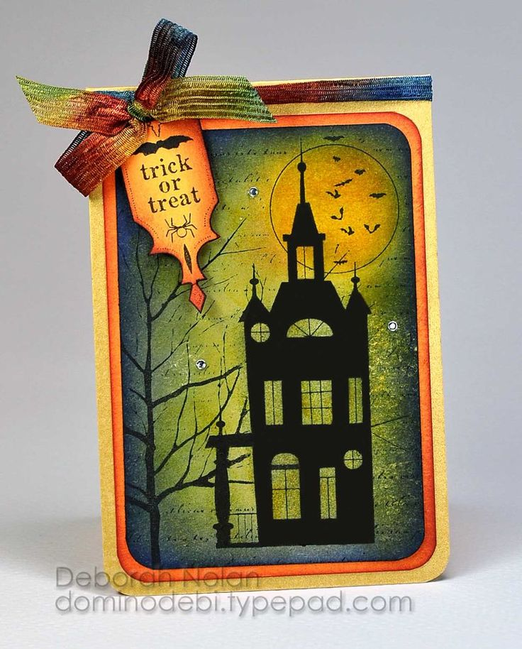 Card made from Memory Box stamps