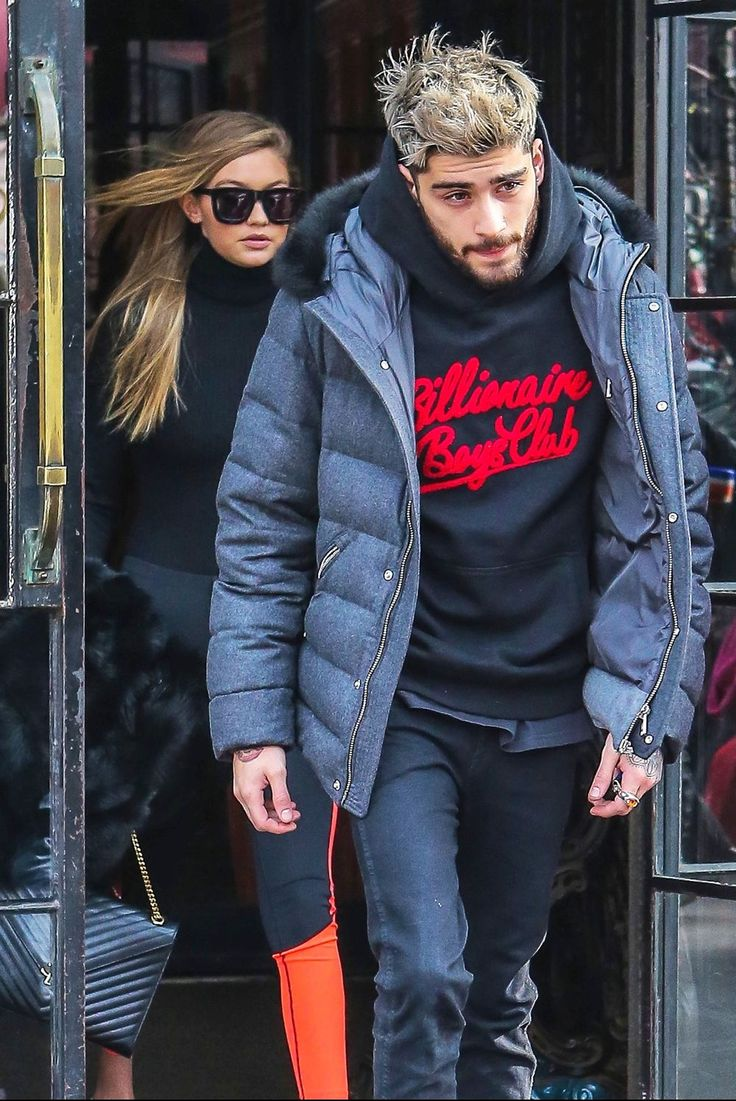 Hotting up ... Gigi Hadid and Zayn Malik step out together