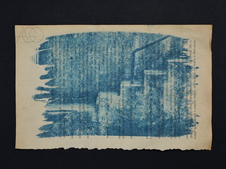 #cyanotype #blueprint #sunprint #photography #alternativephotography #book #old #art