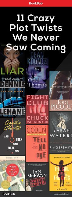 Books to read with crazy plot twists we never saw coming! Fight Club, My Sister's Keeper, Odd Thomas, and more.