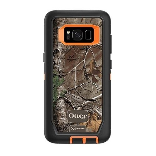 OtterBox - Defender Series Realtree Case for Samsung Galaxy S8 - Xtra camo