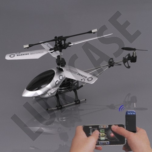 Fjernstyret helicopter til iPhone! http://lux-case.dk/ihelicopter-styret-af-iphone-ipad-ipod-touch-serien.html?