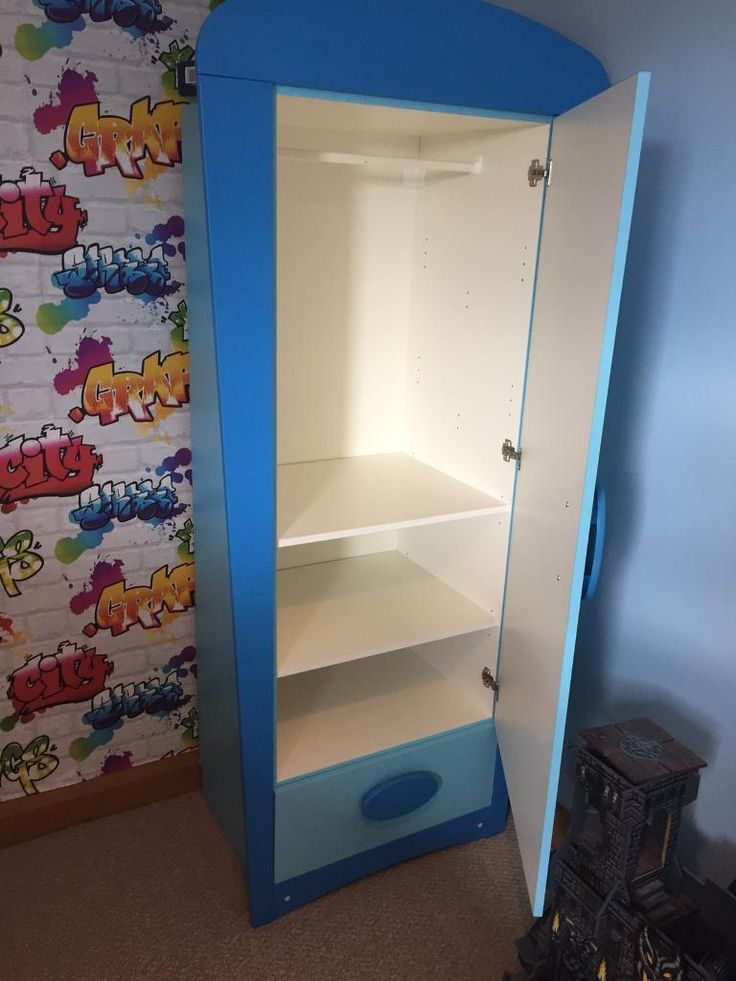 IKEA kids bedroom wardrobe