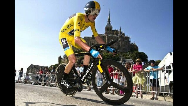 Chris Froome time trial